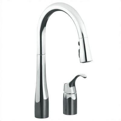 kohler simplice kitchen faucet simplice pull kitchen faucet