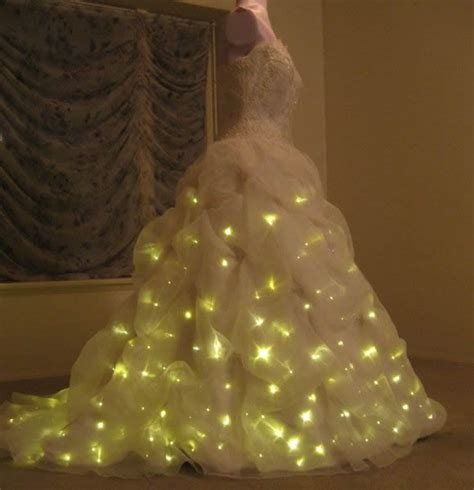 Light Up Dress by Bridal Wear Enlighted Illuminated Clothing