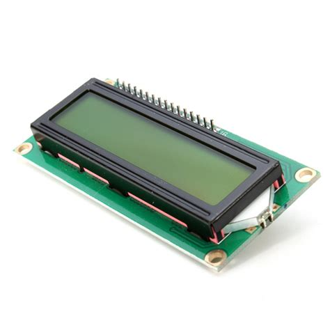 Lcd1602 Lcd 1602 Yellow And Green Screen With Backlight Lcd Display iic i2c 1602 yellow green backlight lcd display module