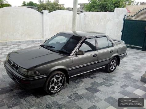 1990 Toyota Corolla For Sale Used Toyota Corolla Se Saloon 1990 Car For Sale In Chakwal