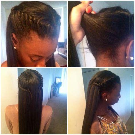 updos for sew ins maddgolden hair pinterest braid hair straight hair