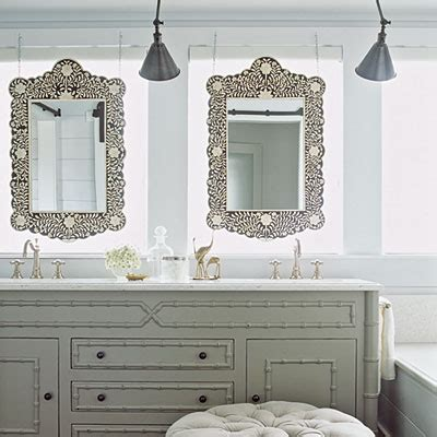grey bathroom mirror gray bathroom vanity cottage bathroom coastal living