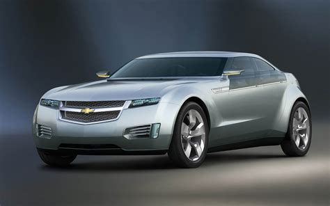 cars chevrolet wallpapers chevrolet volt concept car photos