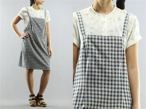 Midi Plaid Pinafore Dress 13 best clothes images on advanced style
