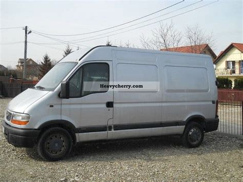 opel movano 2001 opel movano 2 2 tdi 2001 other vans trucks up to 7 photo