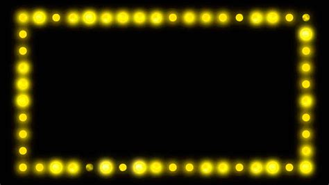 border lights marquee border lights hd background loop
