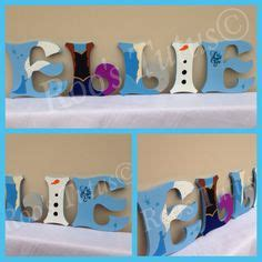 Hanging Door Wall Gantungan Nama Anak Frozen Elsa painted wooden letters that pop each letter can be designed to fit your childs favorite