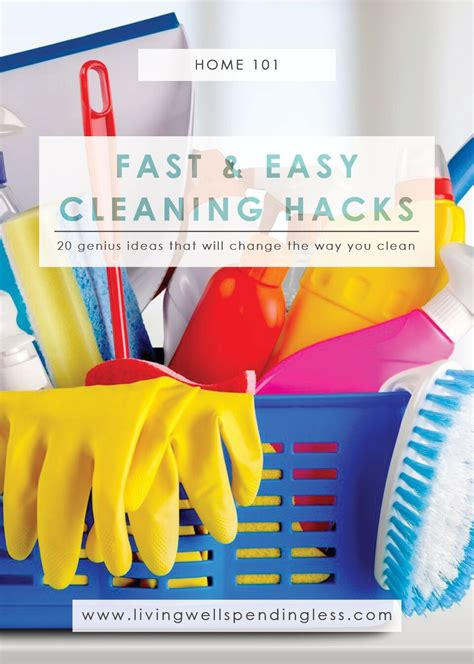 cleaning house hacks 20 fast easy cleaning hacks genius cleaning tricks