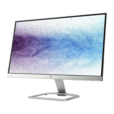 Monitor Komputer Led 21 Inch buy hp 22es display 54 6 cm 21 5 inch thinnest ips led backlit monitor in india at