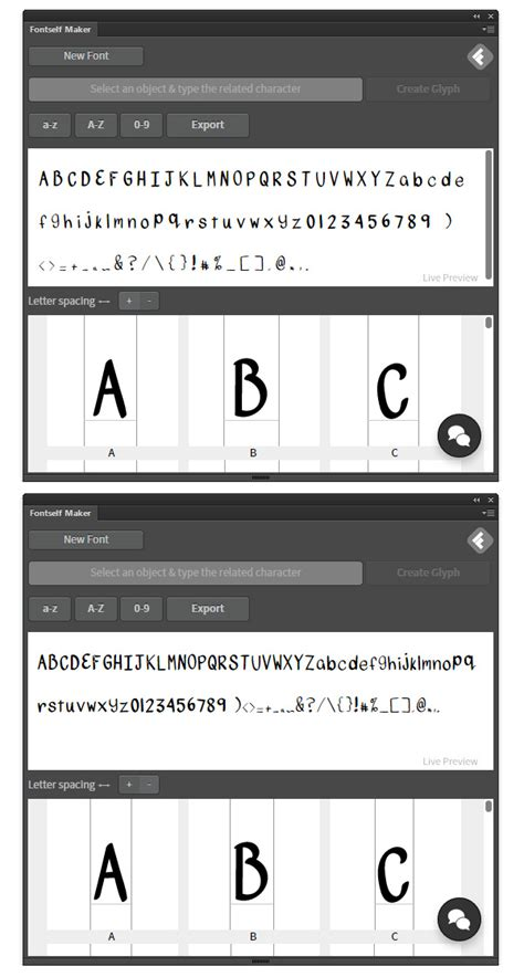 design with fontforge how to create a font using fontself and fontforge