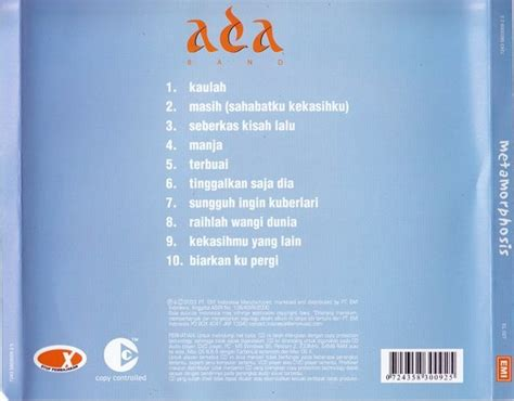 download mp3 ada band raihlah wangi dunia diary armada 11 link download album metamorphosis ada
