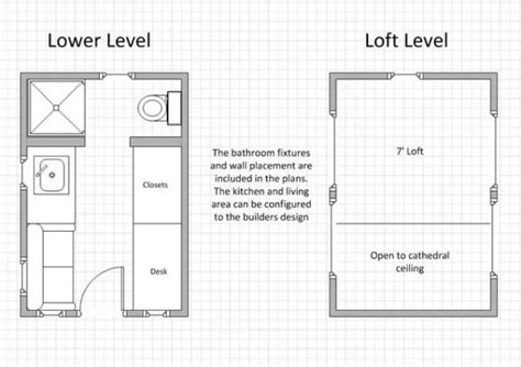 Tiny House Loft Height by Tinier Living Tiny House Design Plans Could You Live