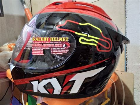 Helm Kyt Rc 7 15 Italy Yellow Fluo jual beli helm kyt rc7 limited
