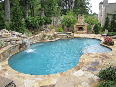 freeform pools atlanta pool builder freeform in ground swimming pool