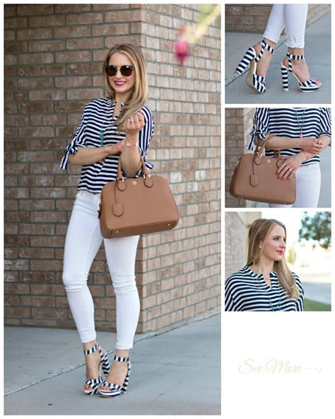 nautical style nautical style nautical style stripe bow top navy striped