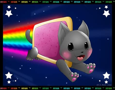 Murah Poster Color Fluorescent Green Cat Poster nyan cat by neon juma deviantart on deviantart nyan cat nyan cat and cats