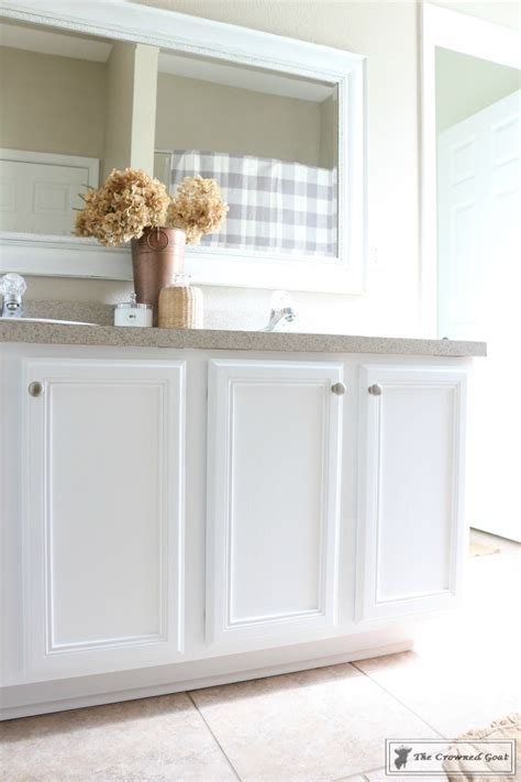 painting bathroom cabinets white painting a bathroom cabinet with general finishes milk
