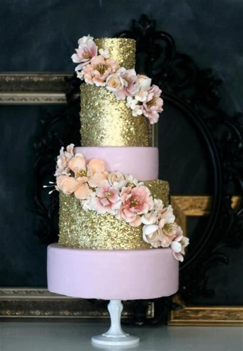 Wedding Cake Trend: Glitter Wedding Cakes   Arabia Weddings