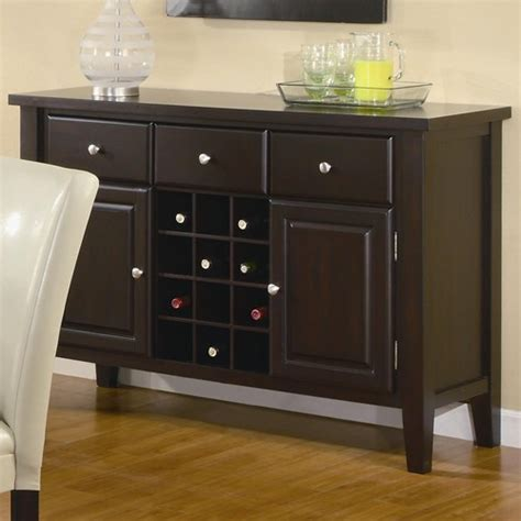 kitchen servers furniture the difference among sideboard buffet credenza and server homesfeed