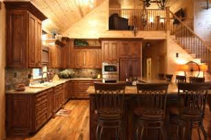 Style Rustic Kitchen Huntington By Mountaineer Woodcraft » Ideas Home Design