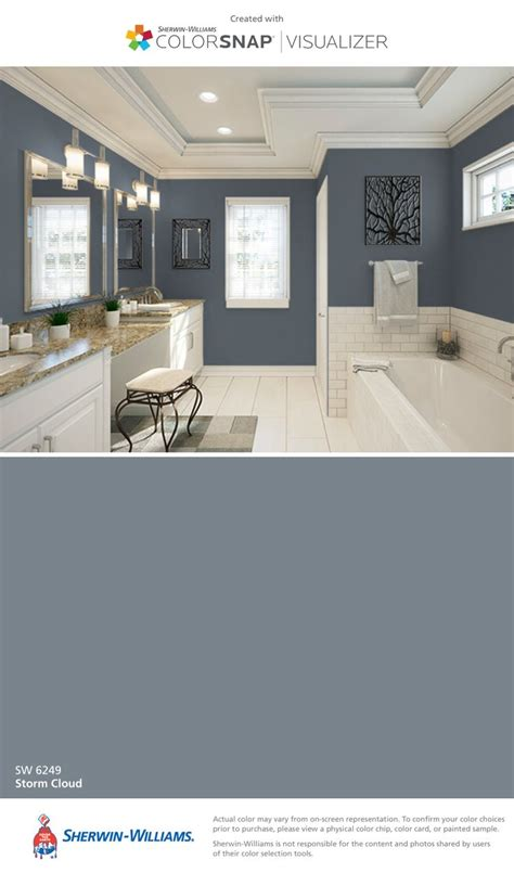 sherwin williams silvermist blue gray bathroom blue gray i found this color with colorsnap 174 visualizer for iphone