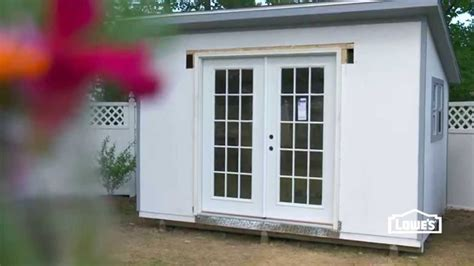 exterior doors for shed how to install doors in a shed