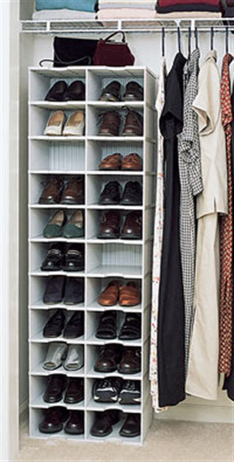 Closet Shoe Organizers by Jeri S Organizing Decluttering News Stashing The Shoes