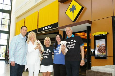 california pizza kitchen helps animal rescue palm