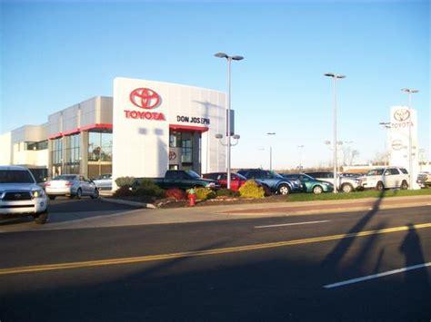 Don Joseph Toyota Kent Ohio Don Joseph Toyota Car Dealership In Kent Oh 44240