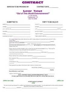 dj contract template non compete agreement d j