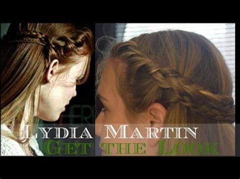lydia martin inspired updo teen wolf lydia martin holland roden inspired hairstyle