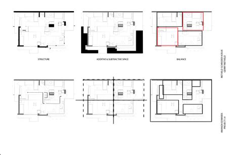 rietveld schroder house floor plans schroder house floor plan
