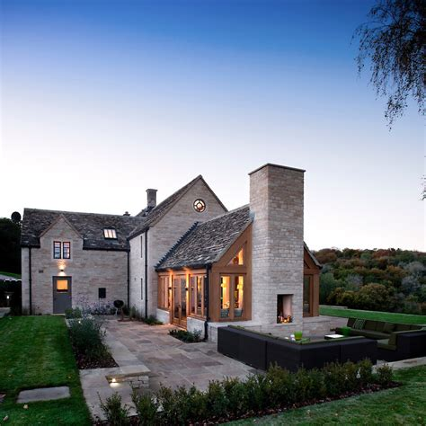 European House Plans One Story by Modern Cotswold Farmhouse Andy Marshall Architectural