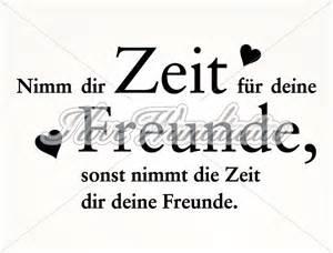 Schlafzimmer Rot Grau by Wandtattoo Spruch Nimm Dir Zeit F 252 R Freunde I Love