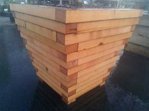Best Wood To Use For Planter Boxes by Wood Planter Box Gallery Bay Natives Bring Nature Into