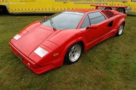 89 Lamborghini Countach 1989 Lamborghini Countach 25th Anniversary Countach 25
