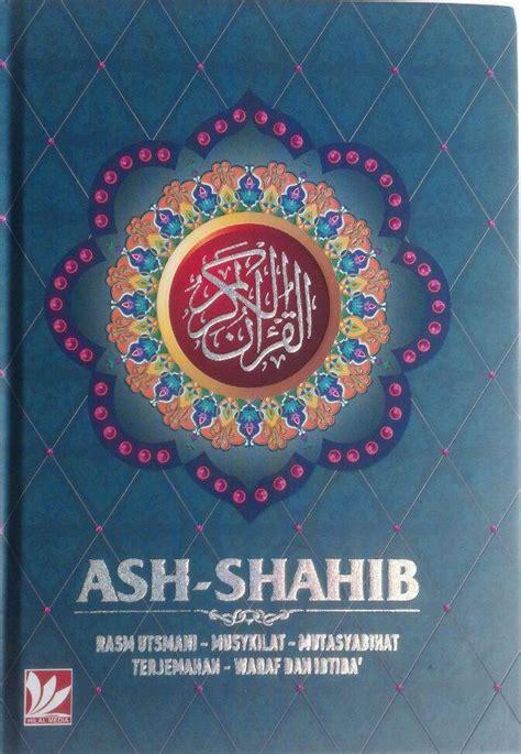 Ash Shahib al qur an terjemah ash shahib ukuran a5