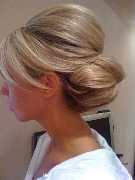 side buns for shoulder length fine hair 25 effortless updos for medium length hair hairstyle for