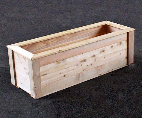 Cedar Wood Planter Boxes by 25 Best Ideas About Cedar Planter Box On
