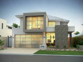 Architecture modern house facade with grey paint theme modern house