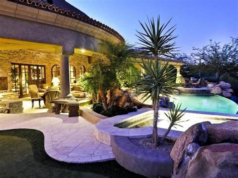 Tuscan Inspired Backyards by Tuscan Style Backyard Arizona Ideas