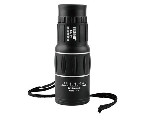 Teropong Monocular Bushnell 18x62 Dual Focus 1 sport monocular adjustable telescope ultra clear day teropong bushnell 16x52 new
