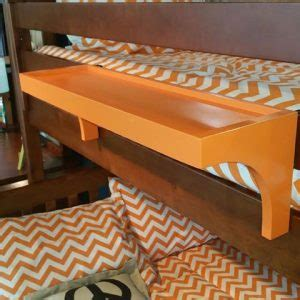 Bunk Bed Side Table Attachment Bunk Bed Shelf Attachment Walker Edison Metal Loft Bed Black White Height Bunk Bed