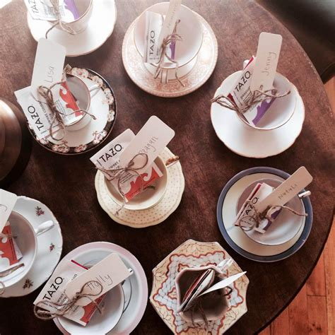 Tea Party Giveaways - personalized tea party favors home party ideas