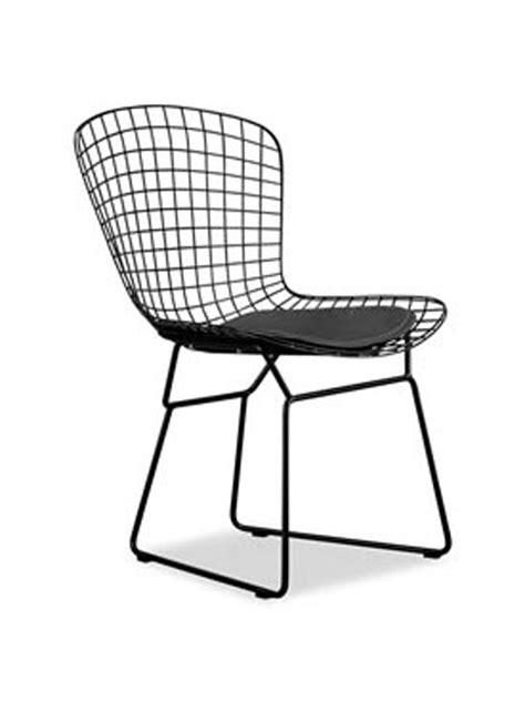 black wire dyson chair brickell collection modern furniture