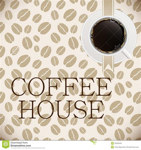 menu design eps file coffee house menu template vector illustration royalty