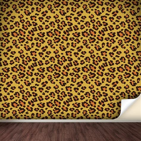 leopard print wall stickers leopard print wall decals 2017 grasscloth wallpaper