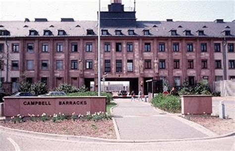 army base in germany housing cbell barracks army base in heidelberg germany
