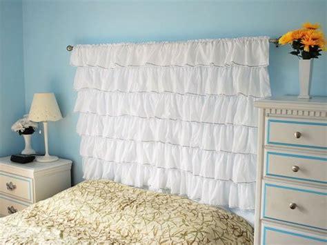 Curtain Headboard Designs Diy Curtain Headboards Easy D 233 Cor Styles Decozilla
