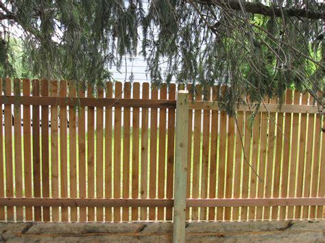 Garden Picket Fence Ideas Picket Fence Design Ideas With Traditional Cedar Picket Fence Designs Popular Home Interior